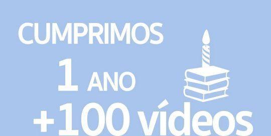 1 Año + 100 vídeos