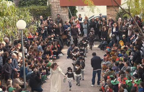 Carnaval Literario del Centro Educativo Gençana