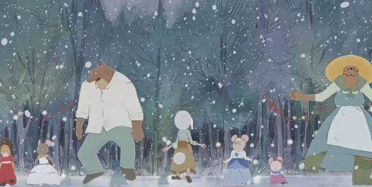 Ernest & Celestine, Cuentos de invierno - Tráiler de la película